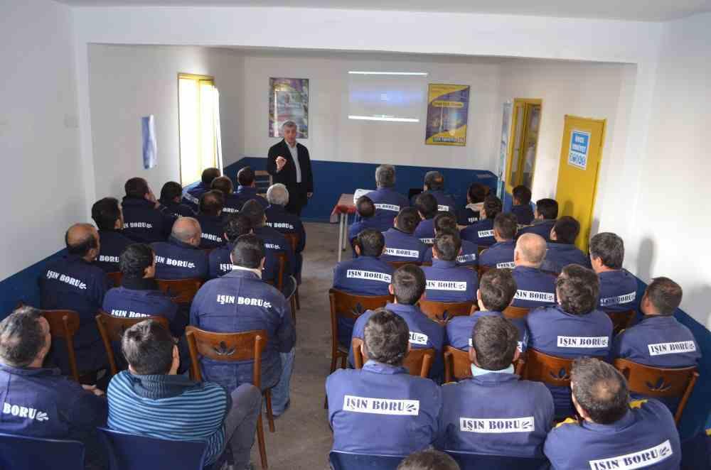 Işın Boru 2013 İş Güvenliği Eğitim Semineri